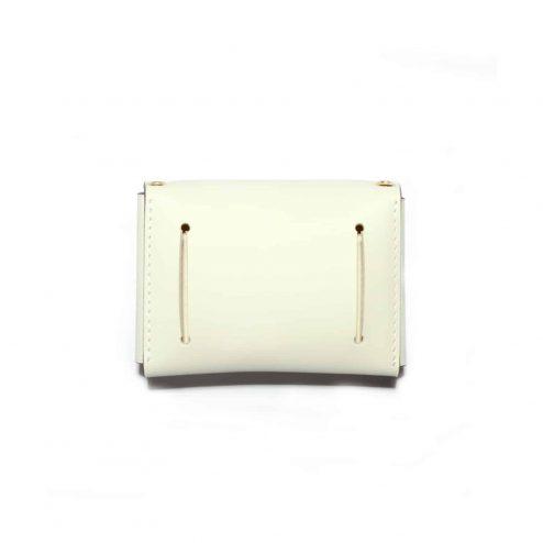 Mini sac à mai ENVELOPPE blanc arrière - Scène Discrète