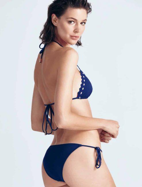 "Bikini bleu marine ""PATTI"" arrière"
